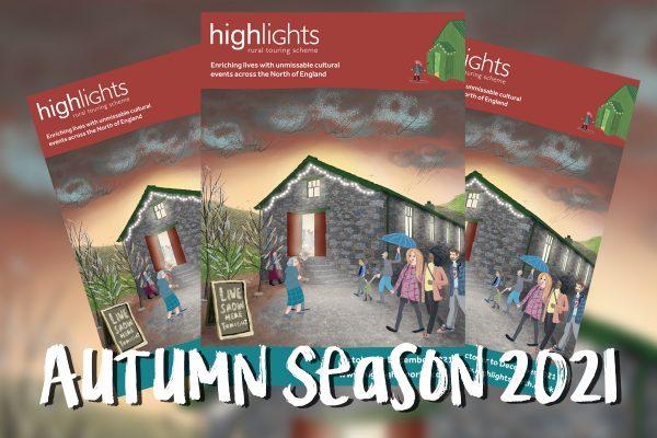 Autumn Season 2021 brochures graphic